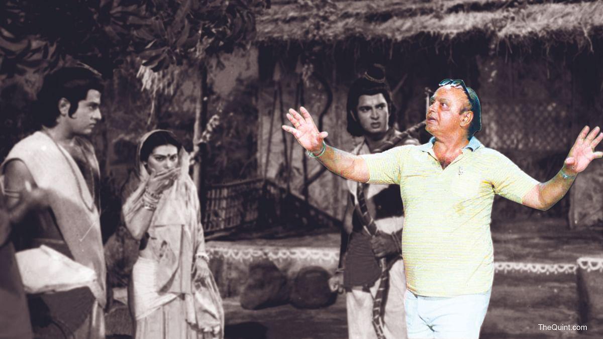 'रामायण' सीरियल के पात्र और रामानंद सागर