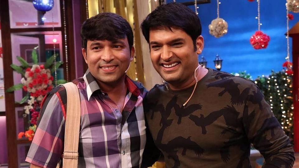 चंदन प्रभाकर और कपिल शर्मा