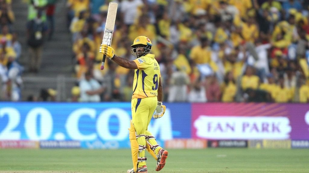 रायडू ने अपने टी20 करियर का पहला शतक लगाया