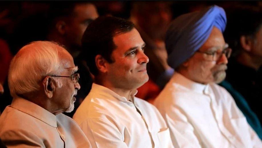 करण थापर के बुक लॉन्च इवेंट में राहुल गांधी ने अपने विचार साझा किए