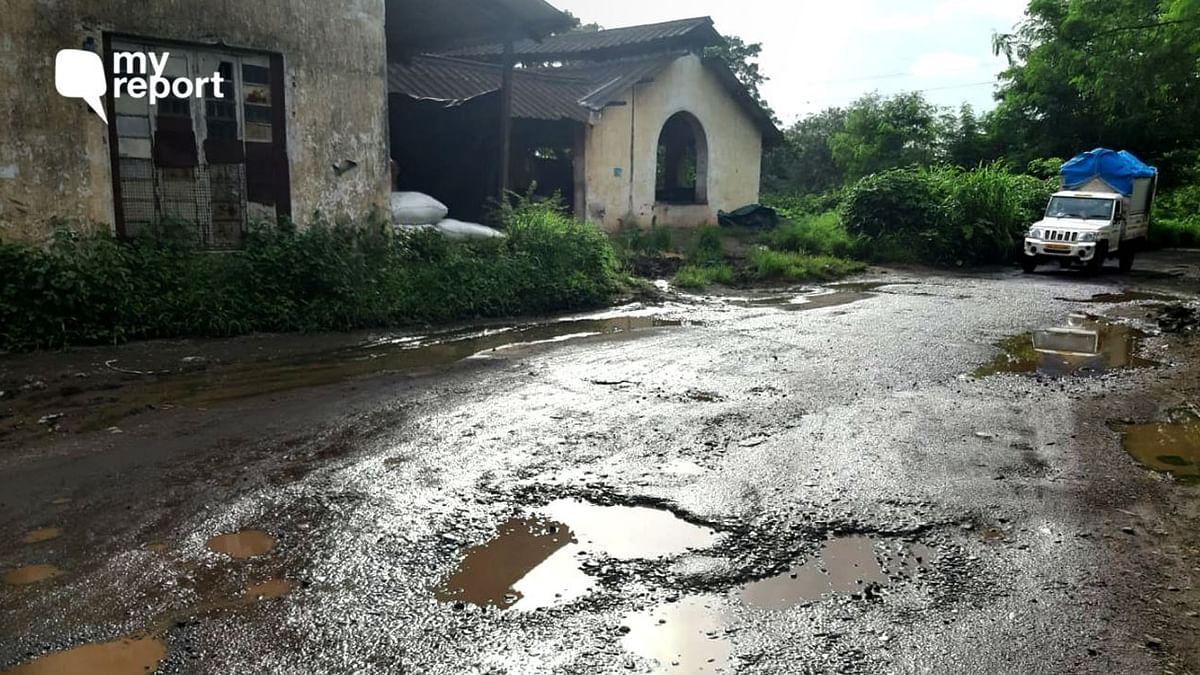 My रिपोर्ट: गोरेगांव के लोगों के लिए मुसीबत बन गए हैं ये गड्ढे