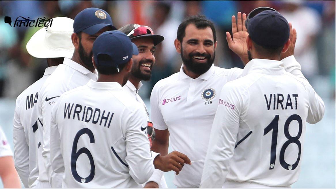 मोहम्मद शमी ने पहले ही टेस्ट में 7 विकेट निकाल लिए