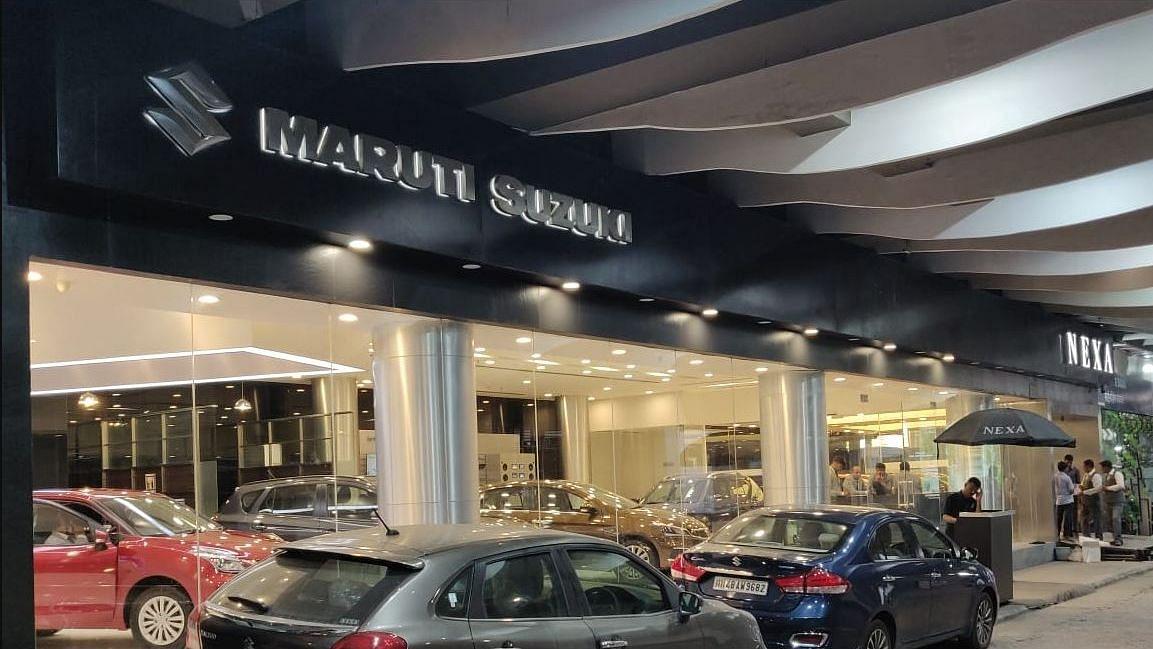 मारुति सुजुकी की बिक्री में गिरावट