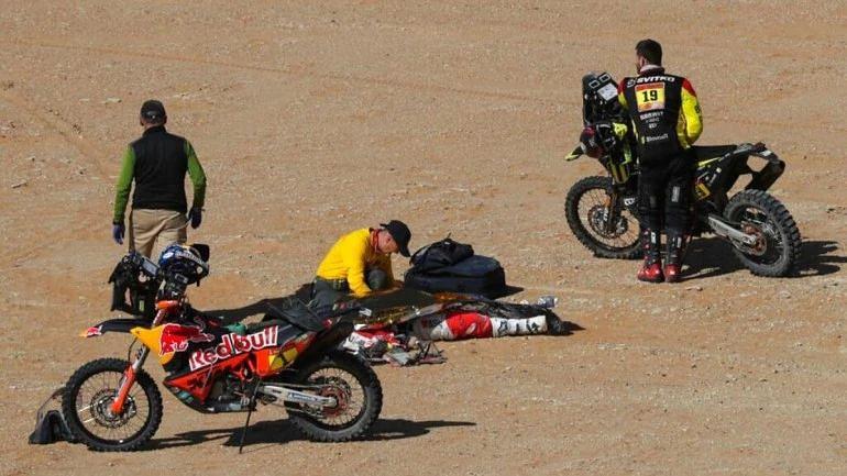हीरो मोटरस्पोर्ट्स के रैली राइडर पाउलो की डकार रैली में हुई मौत