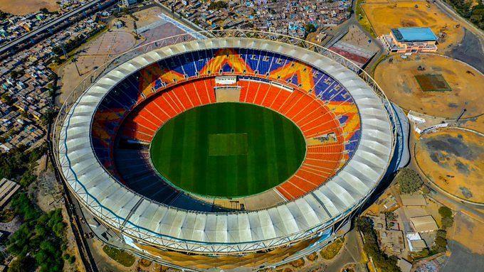 अहमदाबाद में दुनिया का सबसे बड़ा क्रिकेट स्टेडियम