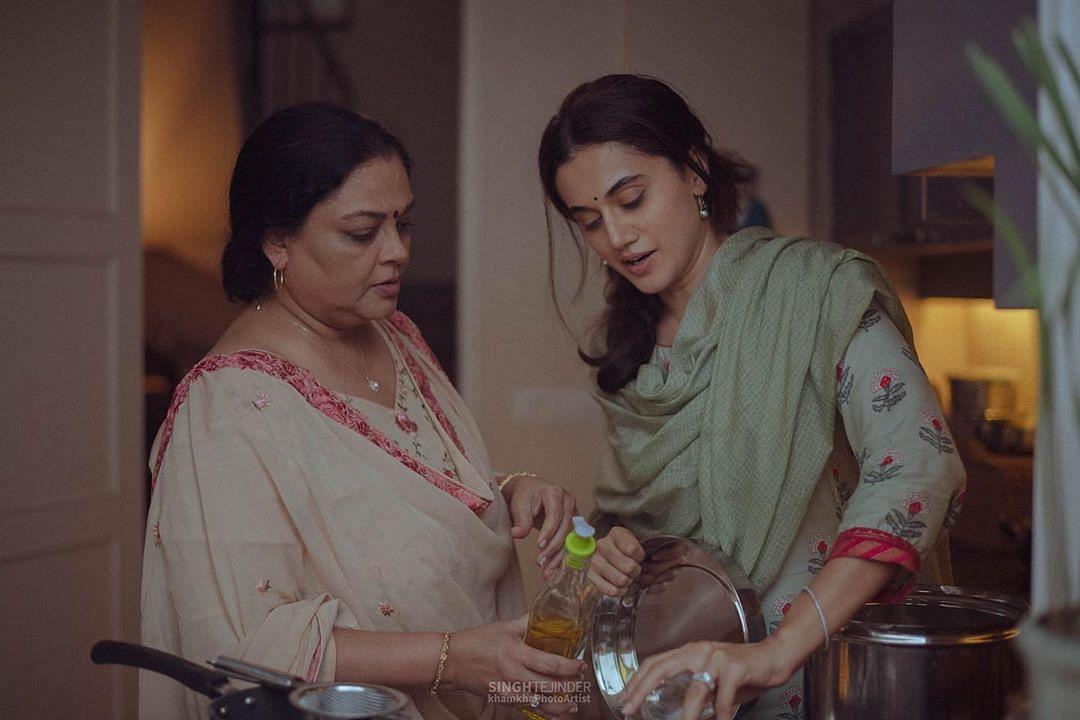 तन्वी आजमी ने निभाया है फिल्म में सास का किरदार