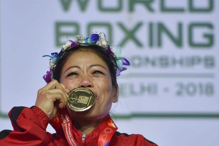 2018 में नई दिल्ली में देशवासियों के सामने मैरी छठवीं बार वर्ल्ड चैंपियनशिप का खिताब जीतकर रिकॉर्ड बना डाला