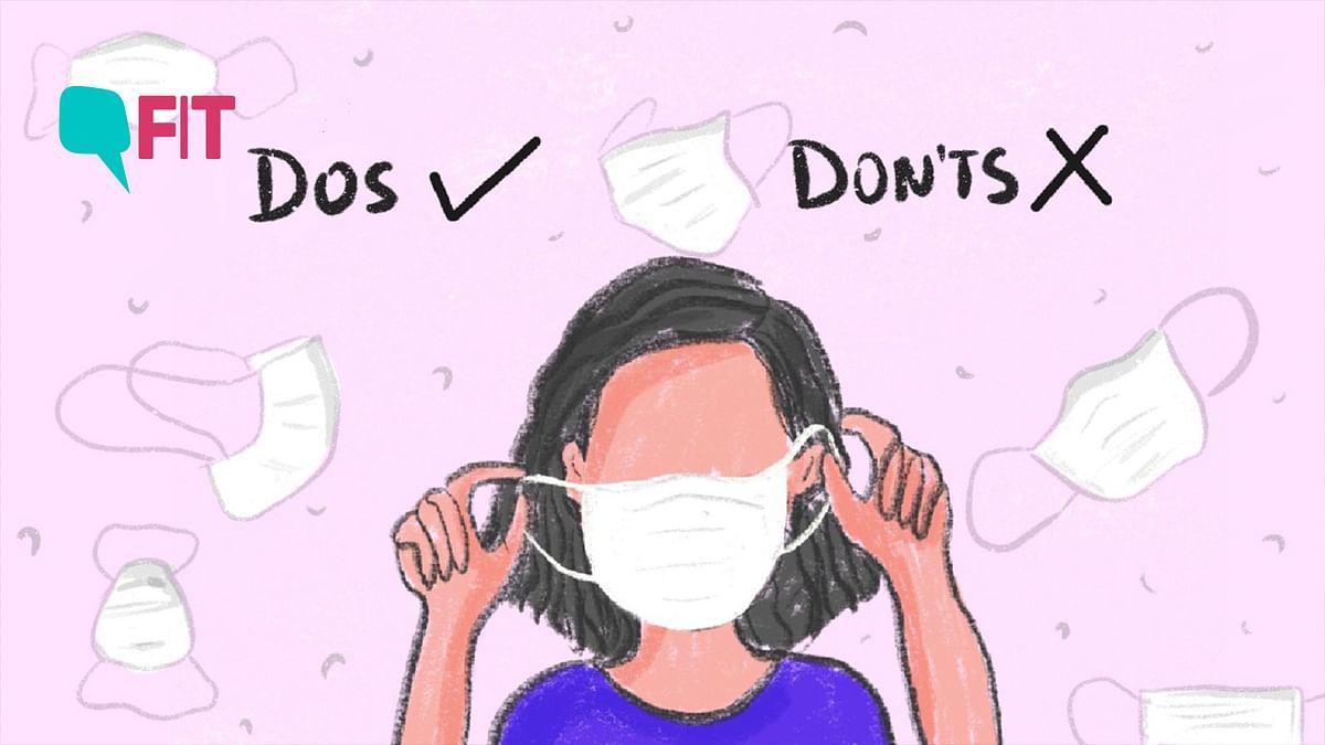 कोरोना वायरस: फेस मास्क पहनते हुए ये सावधानी जरूर बरतें