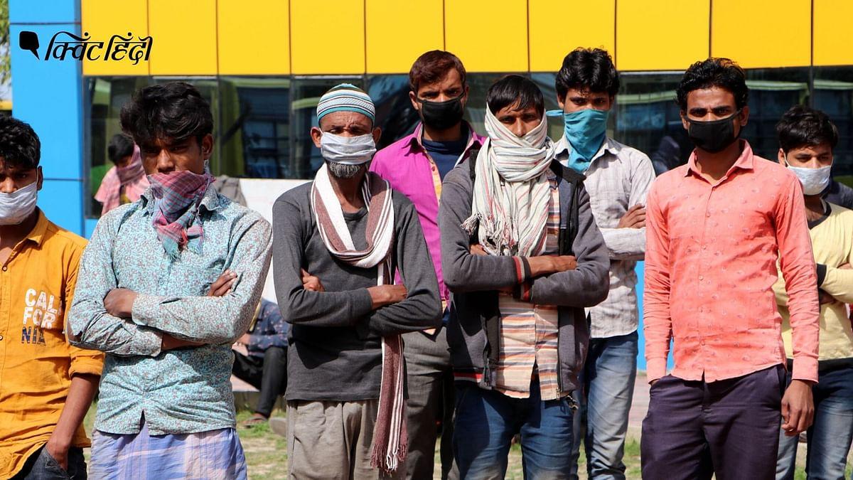 बिहार: कोरोना की दूसरी लहर में घर लौटे  मजदूर, अब रोजगार की चिंता