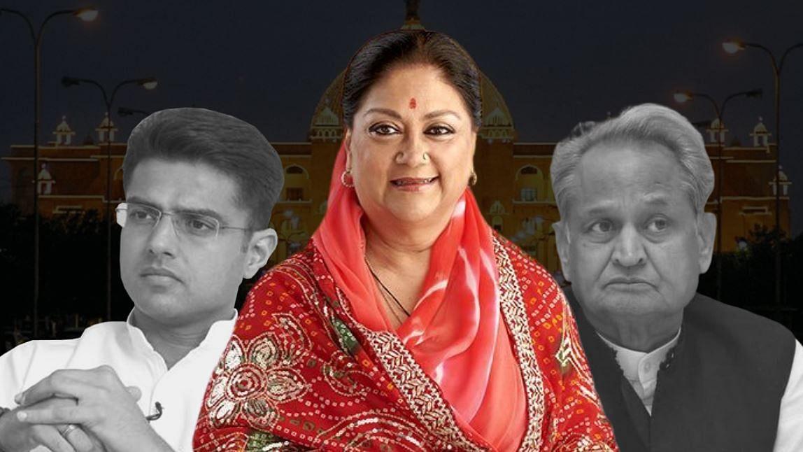 राजस्थान में सियासी घमासान के बीच वसुंधरा राजे की चुप्पी का राज?
