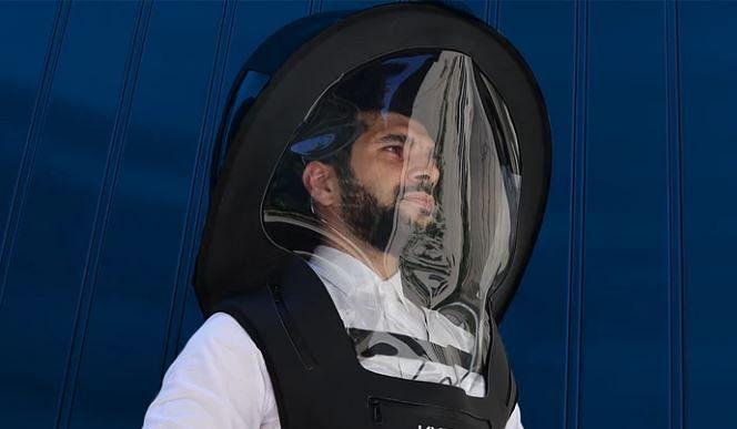 वाइजर का नया हैजमेट सूट सिलिकॉन, न्योप्रीन और विनाइल से बना है