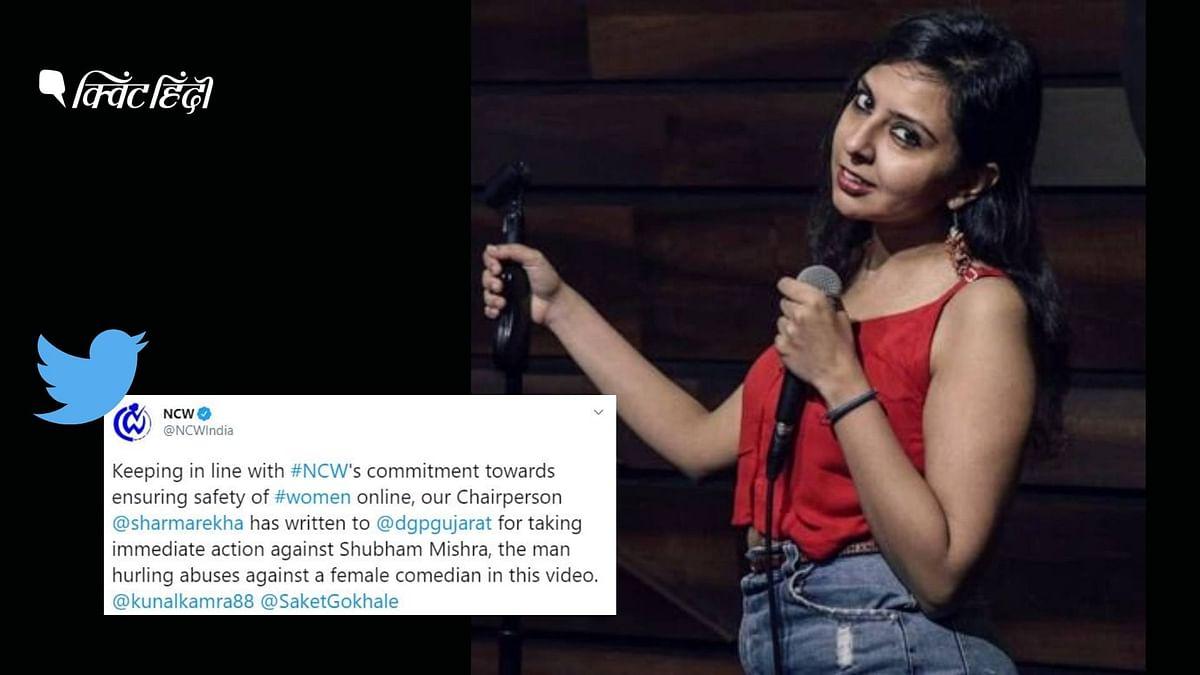 कॉमेडियन अग्रिमा जोशुआ को रेप की धमकी, NCW ने लिया  एक्शन