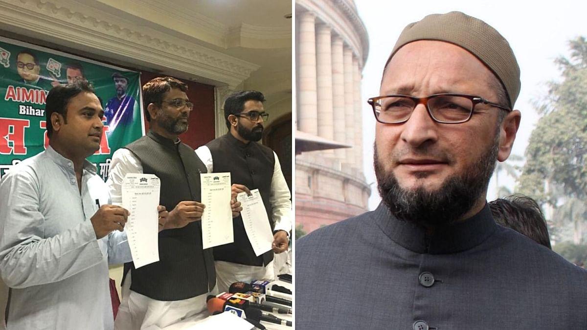 बिहार चुनाव लड़ने के लिए AIMIM ने तय कीं 50 सीटें, गठबंधन को तैयार