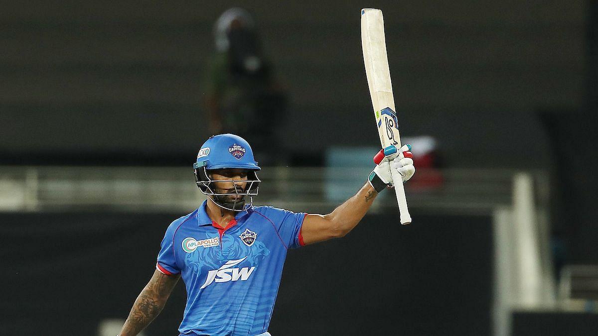 इस मैच में शिखर धवन ने आईपीएल में अपने 5 हजार रन पूरे कर लिए