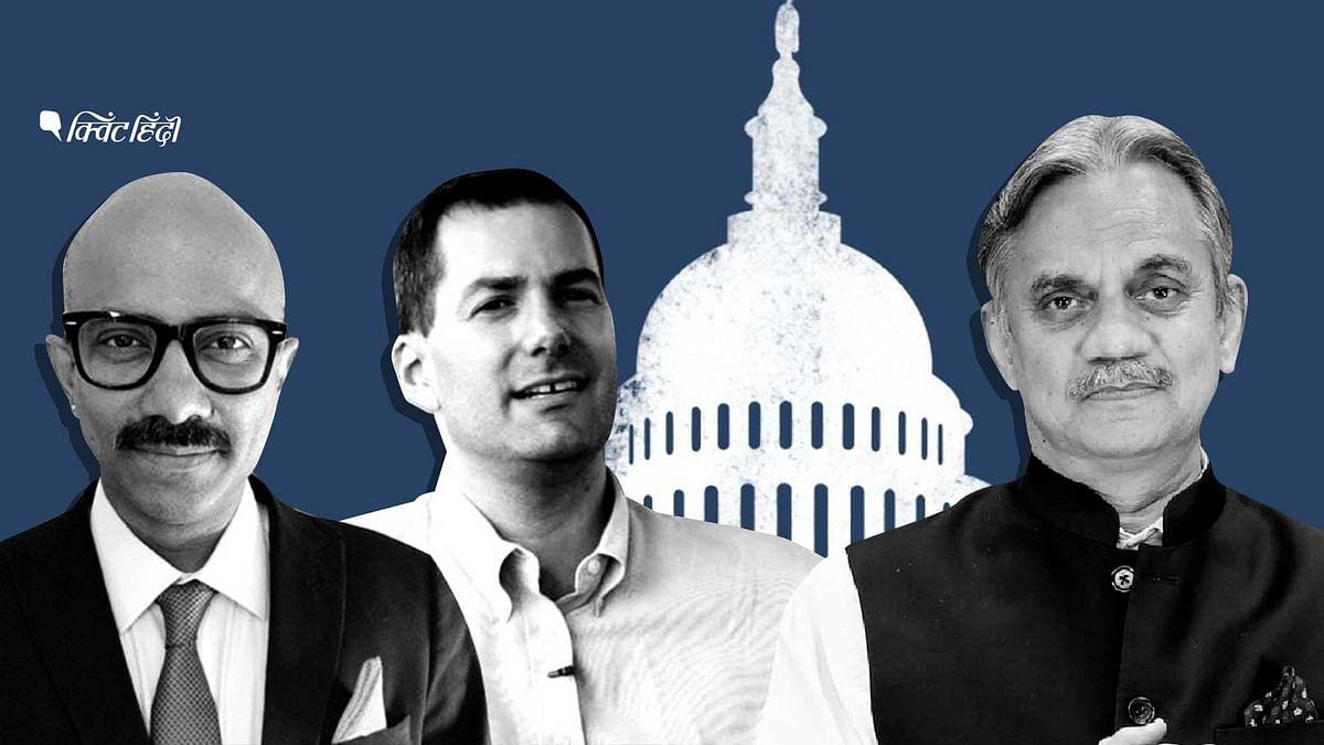 ''बाइडेन आगे, लेकिन ट्रंप रफ्तार पकड़ रहे'',US चुनाव पर बड़ी चर्चा