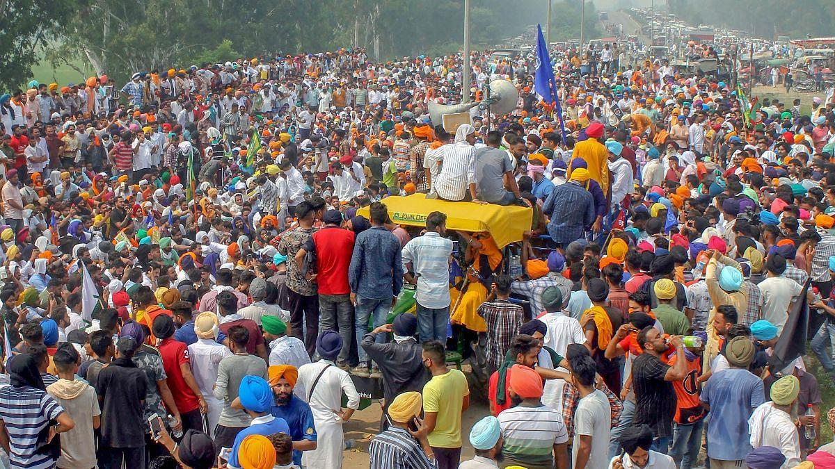 दिल्ली में आंदोलन से पहले हरियाणा में कई किसान नेता गिरफ्तार