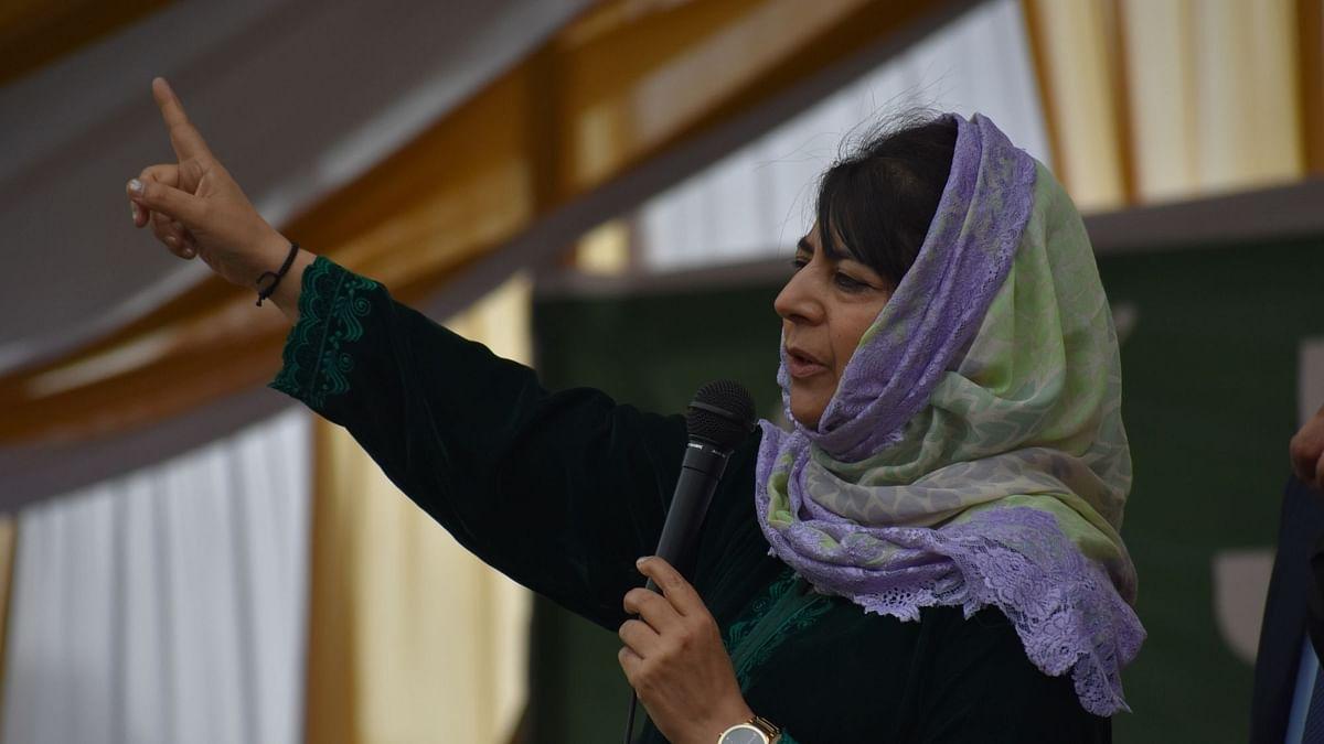 'असली शरिया कानून' से शासन करे तालिबान, महिलाओं को दे अधिकार: महबूबा मुफ्ती