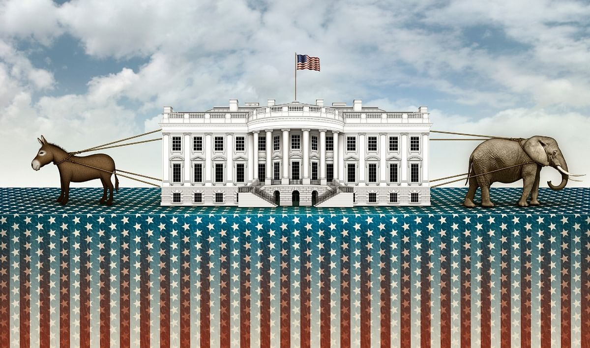 US Election 2020 : 'गधे' और 'हाथी' की जंग, कैसे तय हुए ये प्रतीक