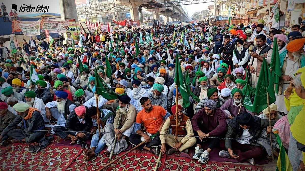 दिल्ली में किसानों का आंदोलन