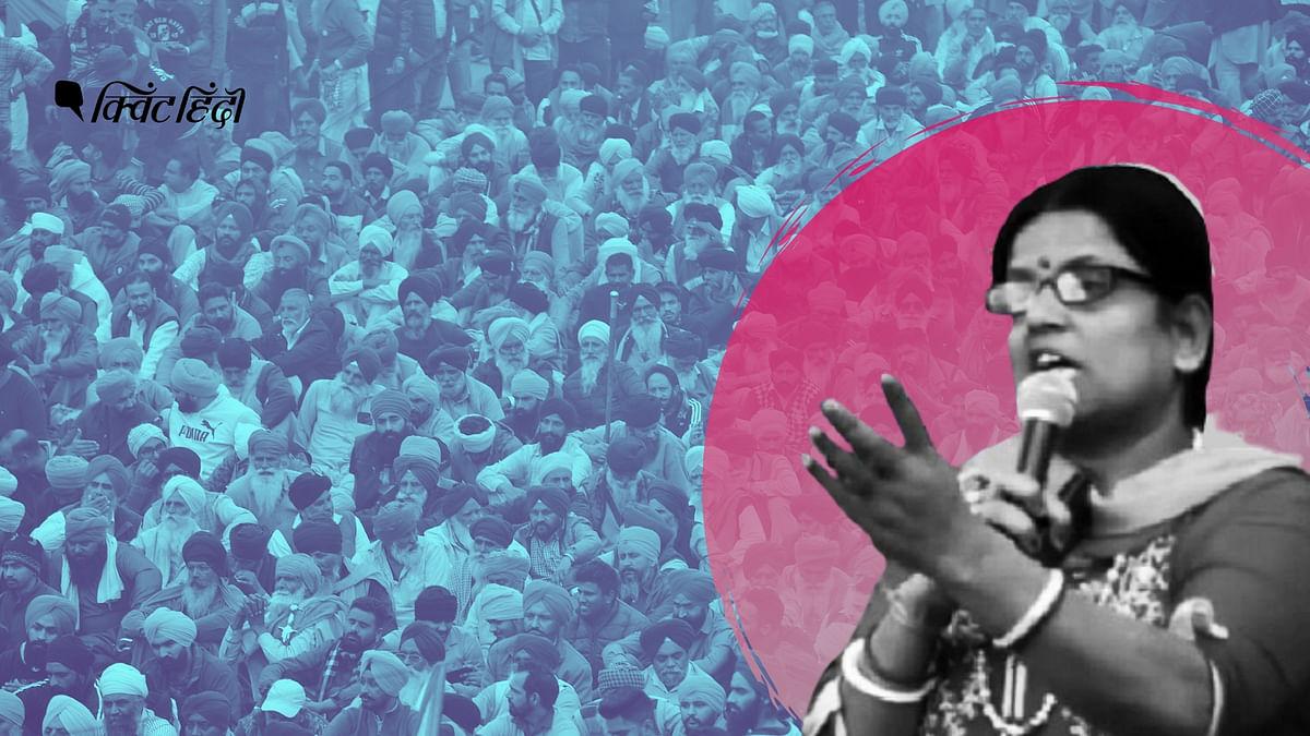 रागिनी तिवारी ने हाल ही में किसान आंदोलन को खत्म कराने को लेकर एक धमकी भरा वीडियो जारी किया