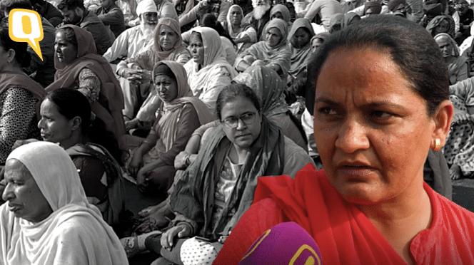 किसान आंदोलन में काफी संख्या में महिलाएं शामिल हो रही हैं