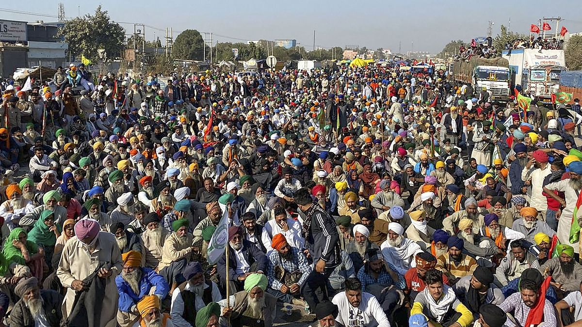 किसानों ने शांतिपूर्ण भारत बंद की अपील की