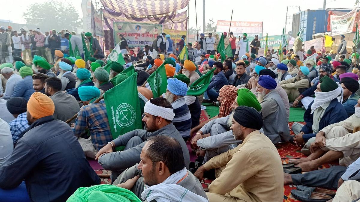 दिल्ली में किसान आंदोलन