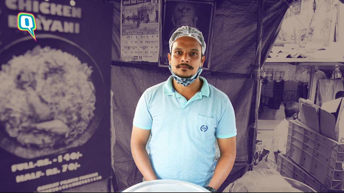 मुंबई: लॉकडाउन ने छिना क्रूज शेफ का काम, अब लगाते हैं बिरयानी का स्टाल