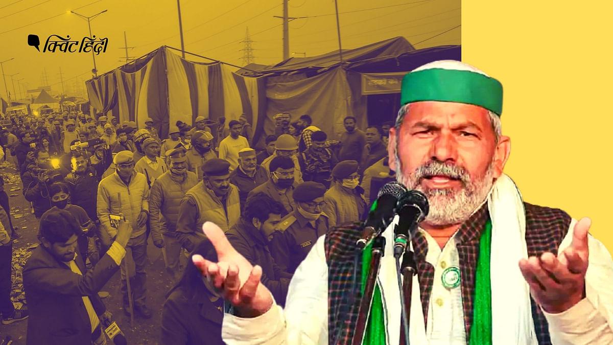नरेंद्र सिंह तोमर के बयान पर राकेश टिकैत का पलटवार