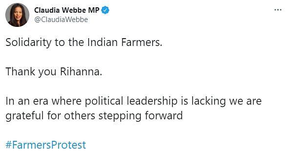 कमला हैरिस की भांजी  किसानों के साथ,कहा-सबसे बड़े लोकतंत्र पर हमला