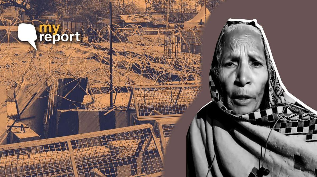सिंघु बॉर्डर: शौचालय नहीं, पानी नहीं लेकिन डटी हुई हैं ये महिलाएं