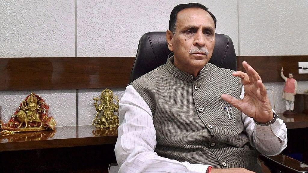 गुजरात के मुख्यमंत्री विजय रूपाणी