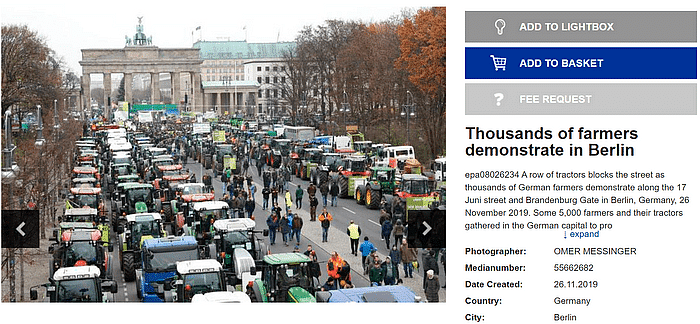 किसानों के समर्थन में जर्मनी में नहीं हुआ प्रदर्शन, फर्जी है दावा