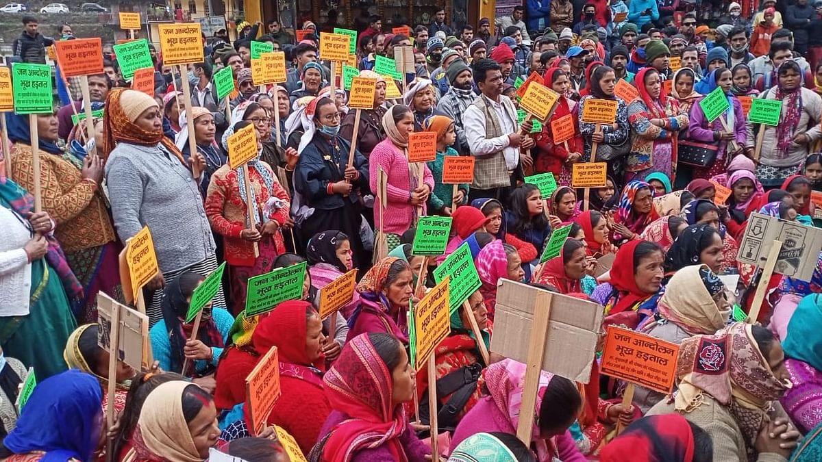 उत्तराखंड: सड़क चौड़ीकरण को लेकर 3 महीने से आंदोलन, सुनवाई नहीं