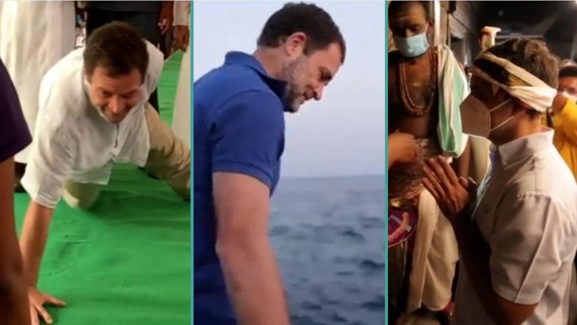 दक्षिण भारत में राहुल गांधी के चुनावी रंग