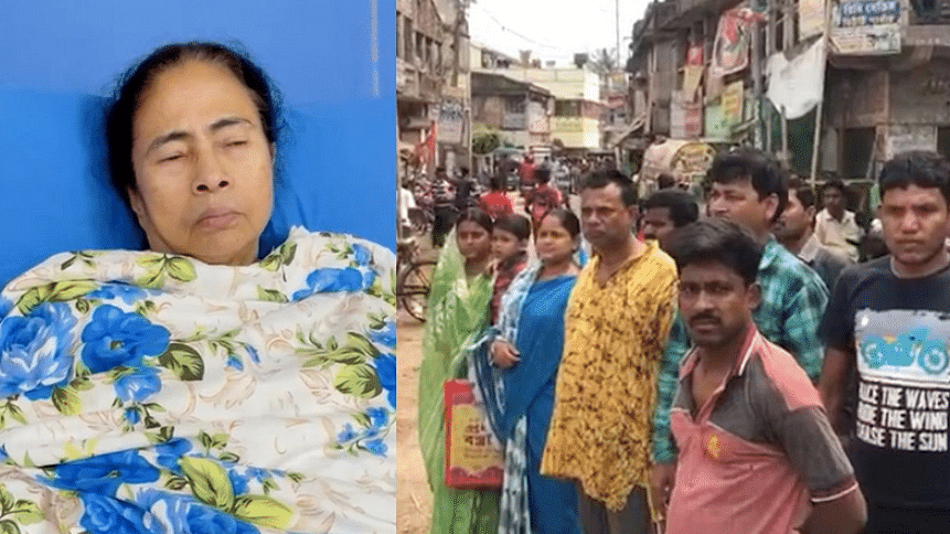 पश्चिम बंगाल की मुख्यमंत्री ममता बनर्जी पर कथित हमला चुनावों के इस दौर में काफी गर्म हो गया है