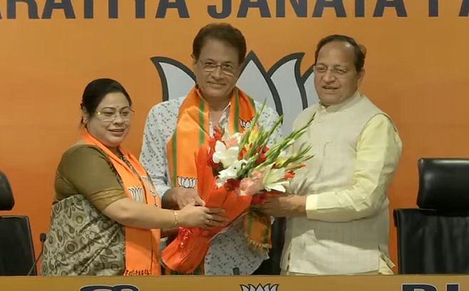 BJP में शामिल हुए टीवी के  'राम' अरुण गोविल, ममता पर साधा निशाना