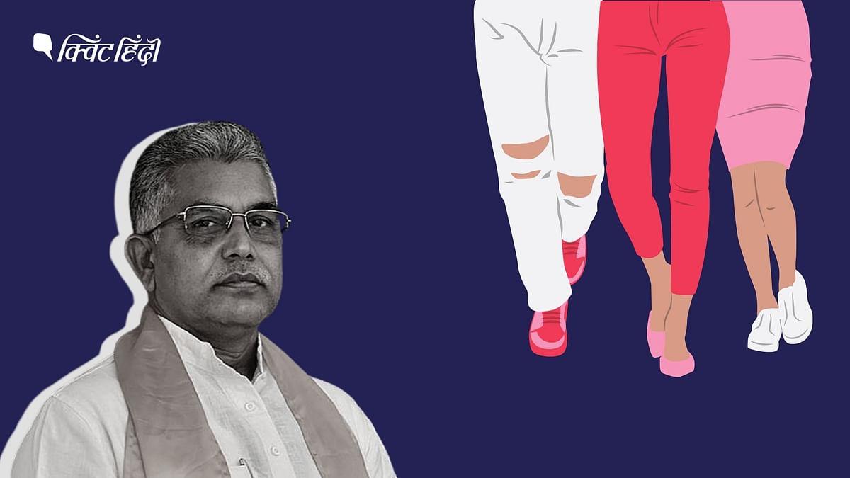 दिलीप घोष ने बंगाल चुनाव प्रचार के दौरान मुख्यमंत्री ममता बनर्जी को लेकर विवादित बयान दिया