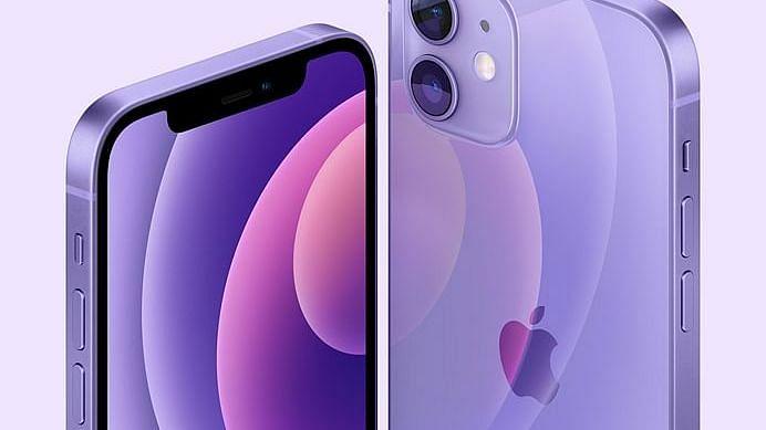 एपल ने लॉन्च किया पर्पल कलर में आईफोन12