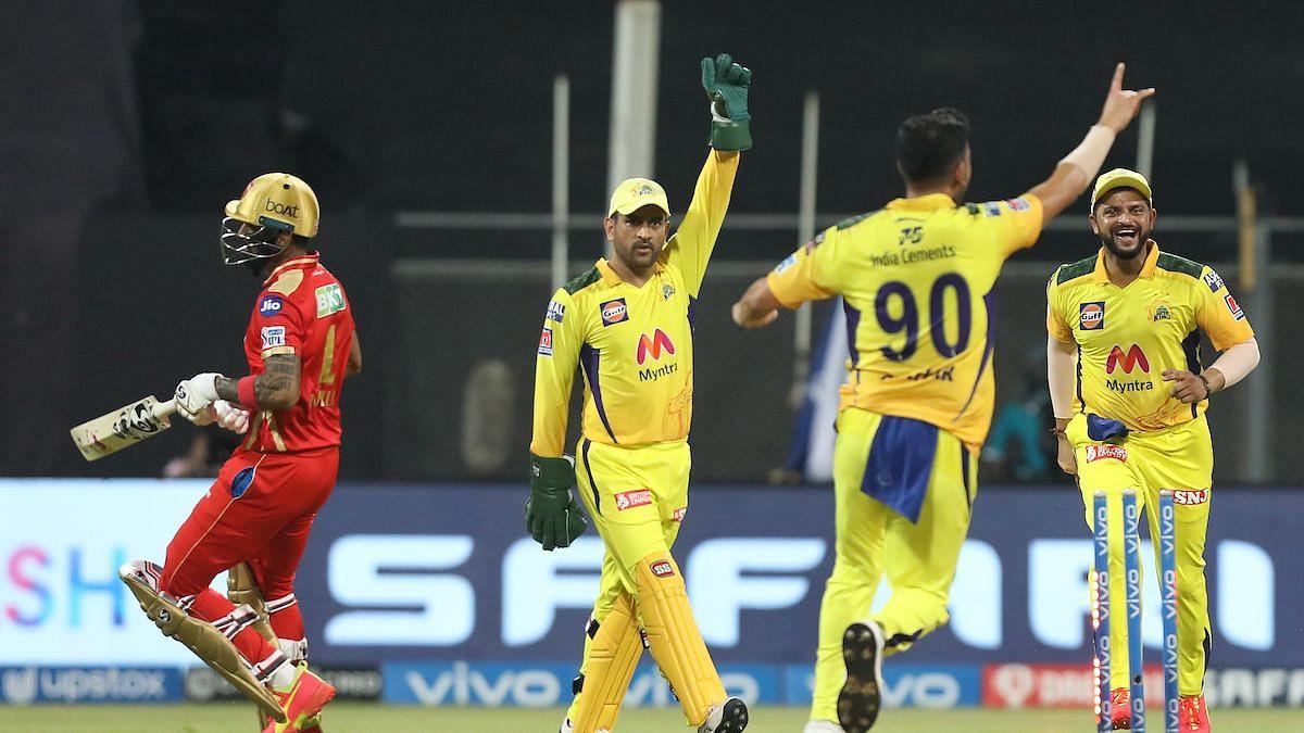 CSK Vs PBKS: चहर की शानदार गेंदबाजी, पंजाब को 106 रनों पर रोका