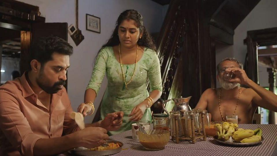 'द ग्रेट इंडियन किचन' फिल्म का एक सीन