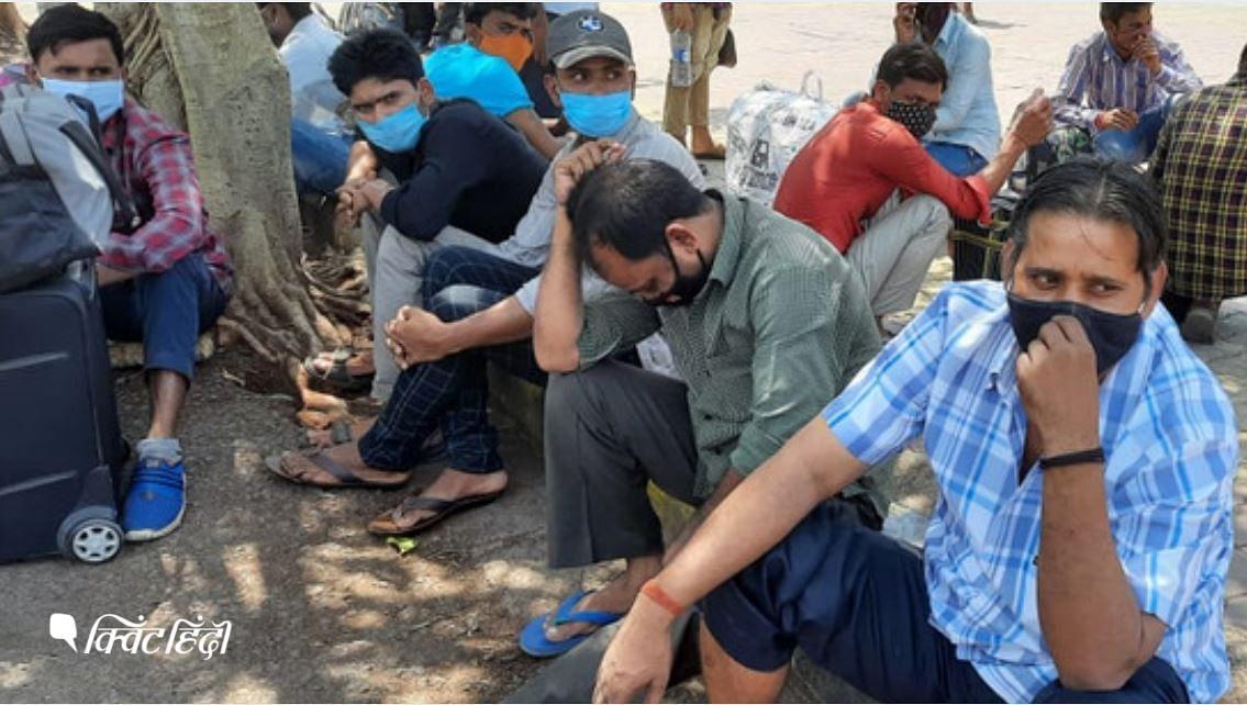 मुंबई से फिर अपने गांव की तरफ क्यों भाग रहे मजदूर?
