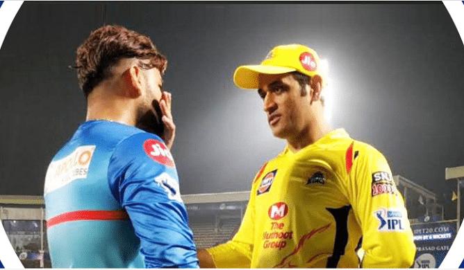 DC Vs CSK:चेन्नई ने बनाए 188 रन,पहले ही मैच में रैना ने ठोके 54 रन