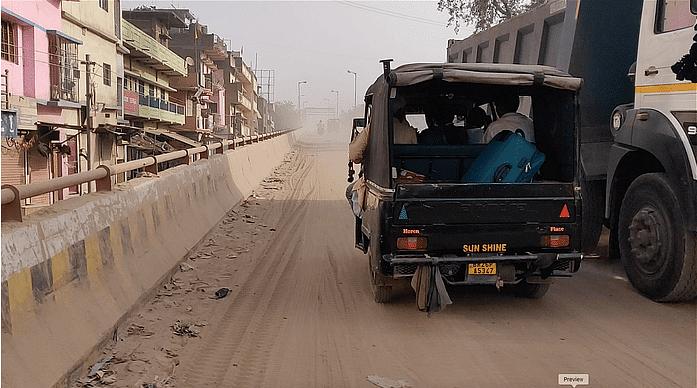 बिहार के इस शहर में रेत बनी सेहत का 'विलेन'