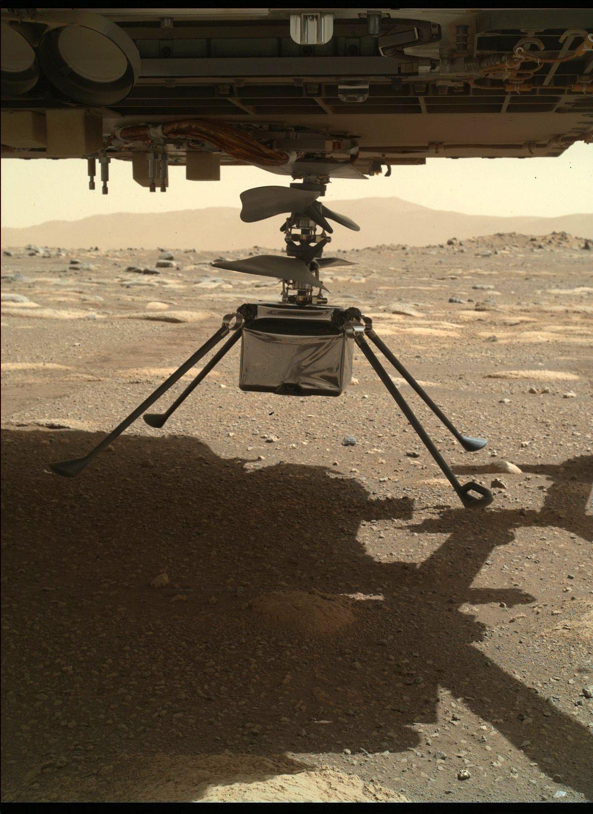 मंगल पर पहली बार उड़ा हेलिकॉप्टर, क्यों खास है NASA का ऑपरेशन?