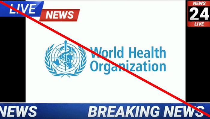 दावा किया दा रहा है कि WHO और ICMR ने भारत को चेतावनी दी है