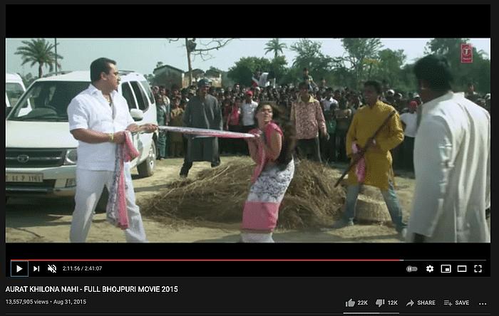 बंगाल में हिंदुओं पर अत्याचार का बताकर फिल्म का सीन हो रहा वायरल