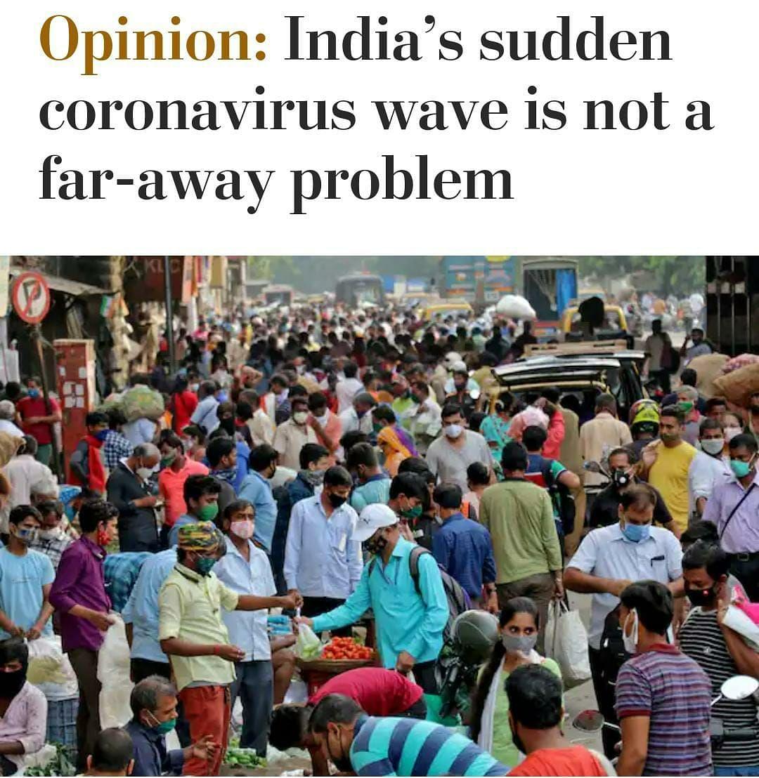 भारत में बेकाबू कोरोना पर क्या लिख रहा इंटरनेशनल मीडिया?