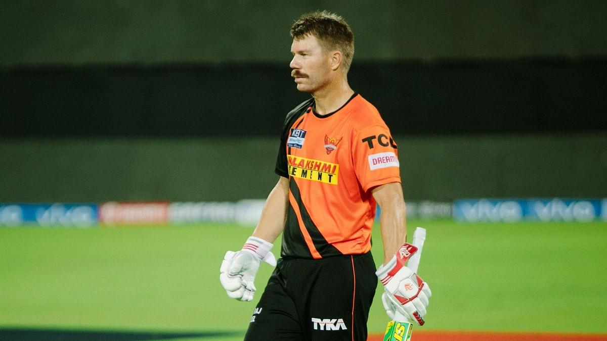 डेविड वॉर्नर की अगुवाई वाली हैदराबाद टीम प्वाइंट्स टेबल में सबसे नीचे