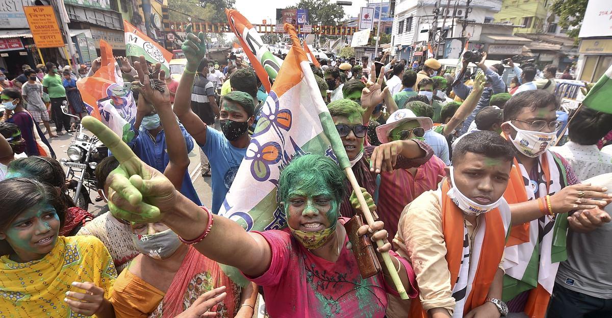 पश्चिम बंगाल में टीएमसी समर्थक